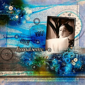 Handsome Layout by Irene Tan using Maja Design(resize)